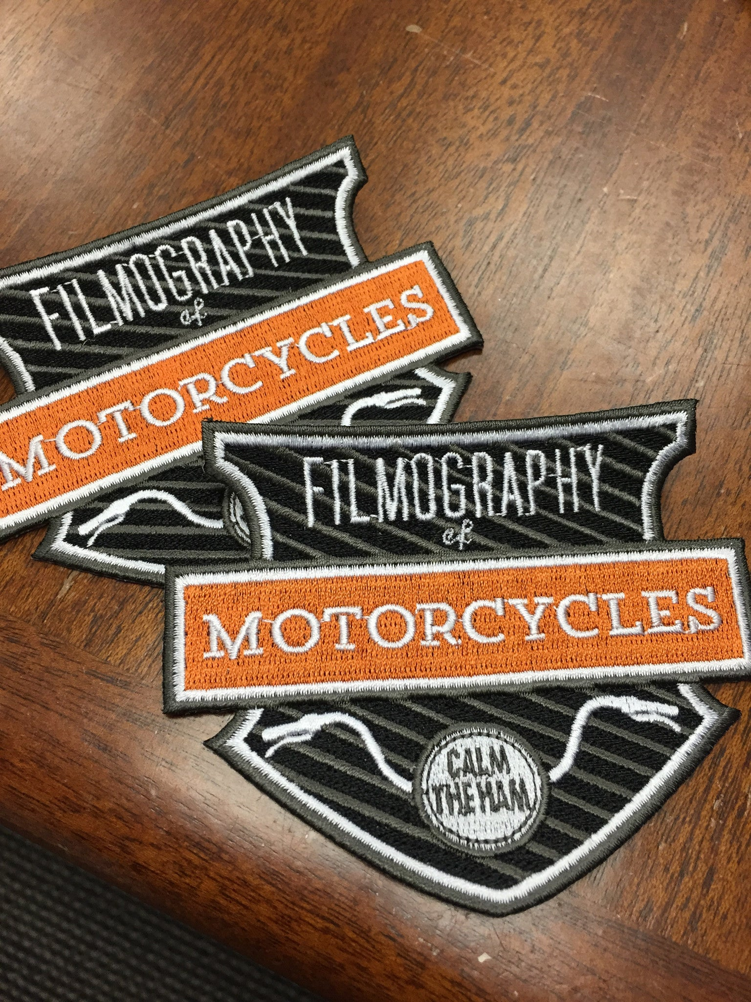 Collector's Patch - Filmography of Motorcycles