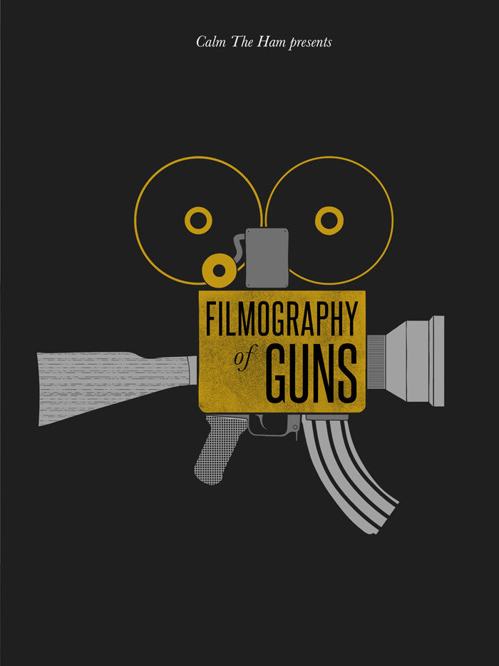 The Filmography of Guns - Insignia Tee