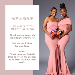 Sip n Shop - Standard Ticket
