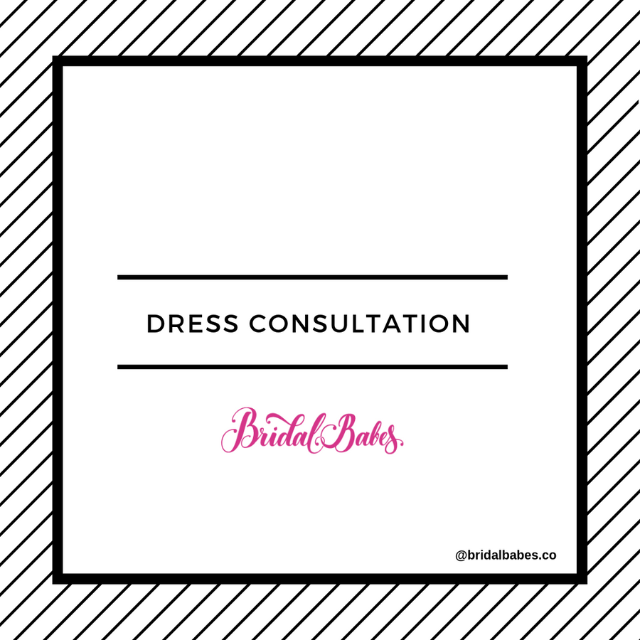 Bridesmaid Dress Consultation (Virtual)