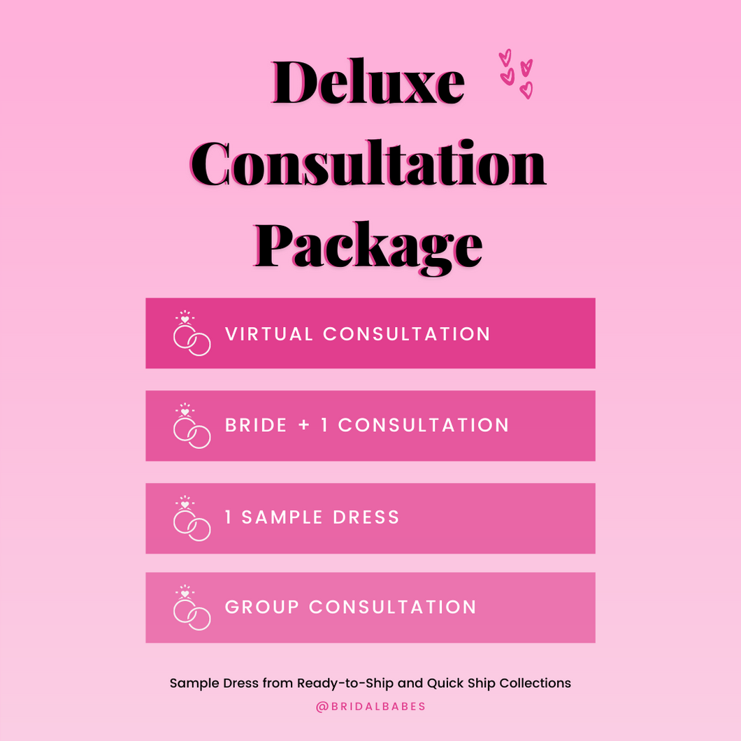 Deluxe Consultation Package (Virtual)