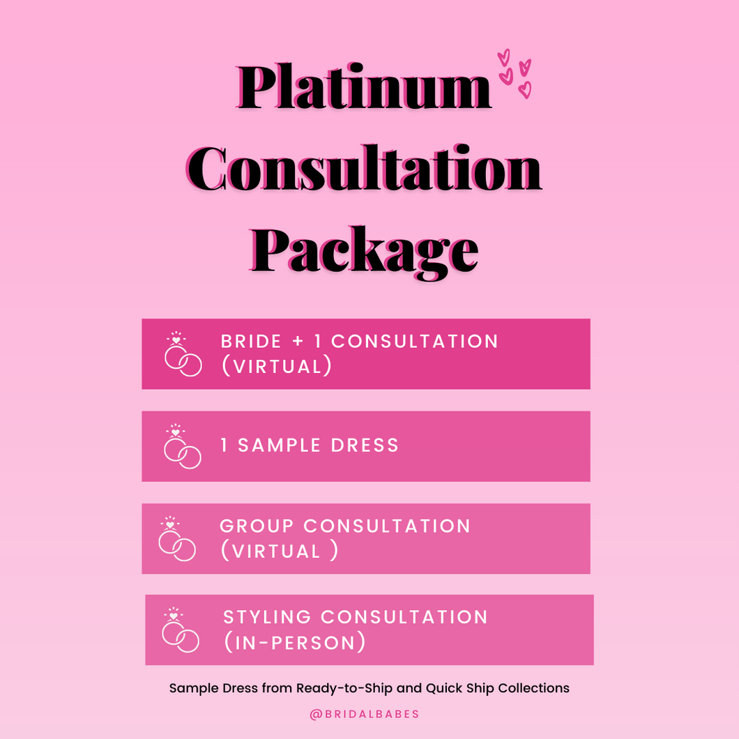 Platinum Consultation & Styling Package
