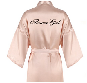 Bridal Party Robe (Custom Titles)