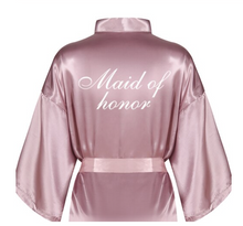 Load image into Gallery viewer, Maid of Honor Robe