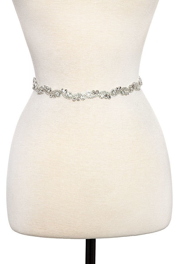 The Swirl Sash Belt