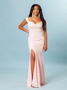 The Reagan Dress Luxe (Satin)