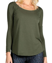 Load image into Gallery viewer, PERFORMANCE WOOL SCOOP NECK LONG SLEEVE