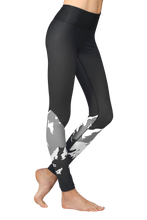 Load image into Gallery viewer, BASELAYER LEGGING - MIDNIGHT ALPS