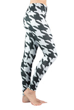 Load image into Gallery viewer, BASELAYER LEGGING - HOUNDSTOOTH