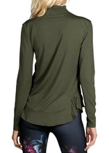 Load image into Gallery viewer, BASELAYER WOOL MOCK-NECK