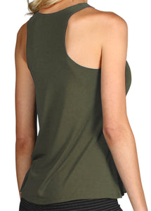 PERFORMANCE WOOL RACERBACK TANK