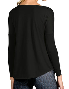 BASELAYER CASHMERE SCOOP NECK
