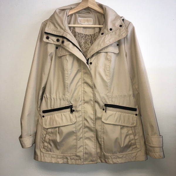 Michael Kors Small Tan Waterproof Jacket Raincoat