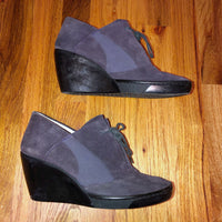 Purple 8 Puma by hussein chalayan Wedges