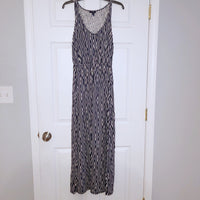Gap XS Blue White Maxi Dress