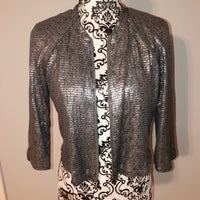 Silence + Noise Sequin Blazer Jacket Small