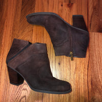 Franco Sarto Brown Ankle Boots 7