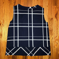 Zara Basic Navy Medium Top