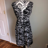 Corey P 9 Black and White Dress