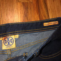 Tory Burch Classic Tory Boot 29 Jeans