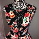 Guess Small Floral Lace Dress