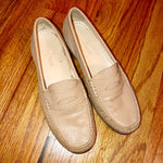 6 Cole Haan Nude Penny Loafers