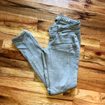 Soft Obsession Jeggings 0 Olive Green Skinny Pants
