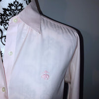 Brooks Brothers 4 Pink Button Down Blouse