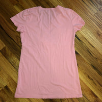Medium Gap Maternity Nursing T shirt Pink Vneck