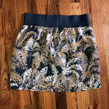 Gap Small Tan Print Skirt