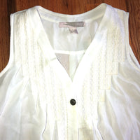 Small Forever 21 White Tank Top