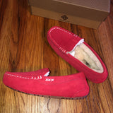 New in Box 6.5-7 Red Moccasins