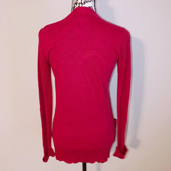 Mossimo XSmall Red Cardigan Sweater