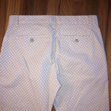 4 Khakis by Gap Print Skinny City Pants
