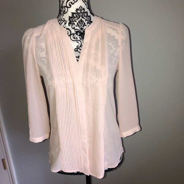 H&M 4 Light Pink Blouse