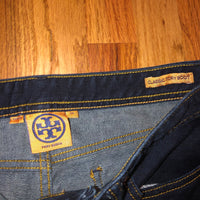 Tory Burch Classic Tory Boot 28 Jeans