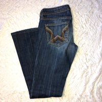 People's Liberation 25 Flare Embellished Jeans