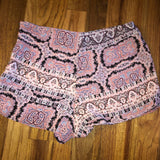 Small Forever 21 pattern print shorts