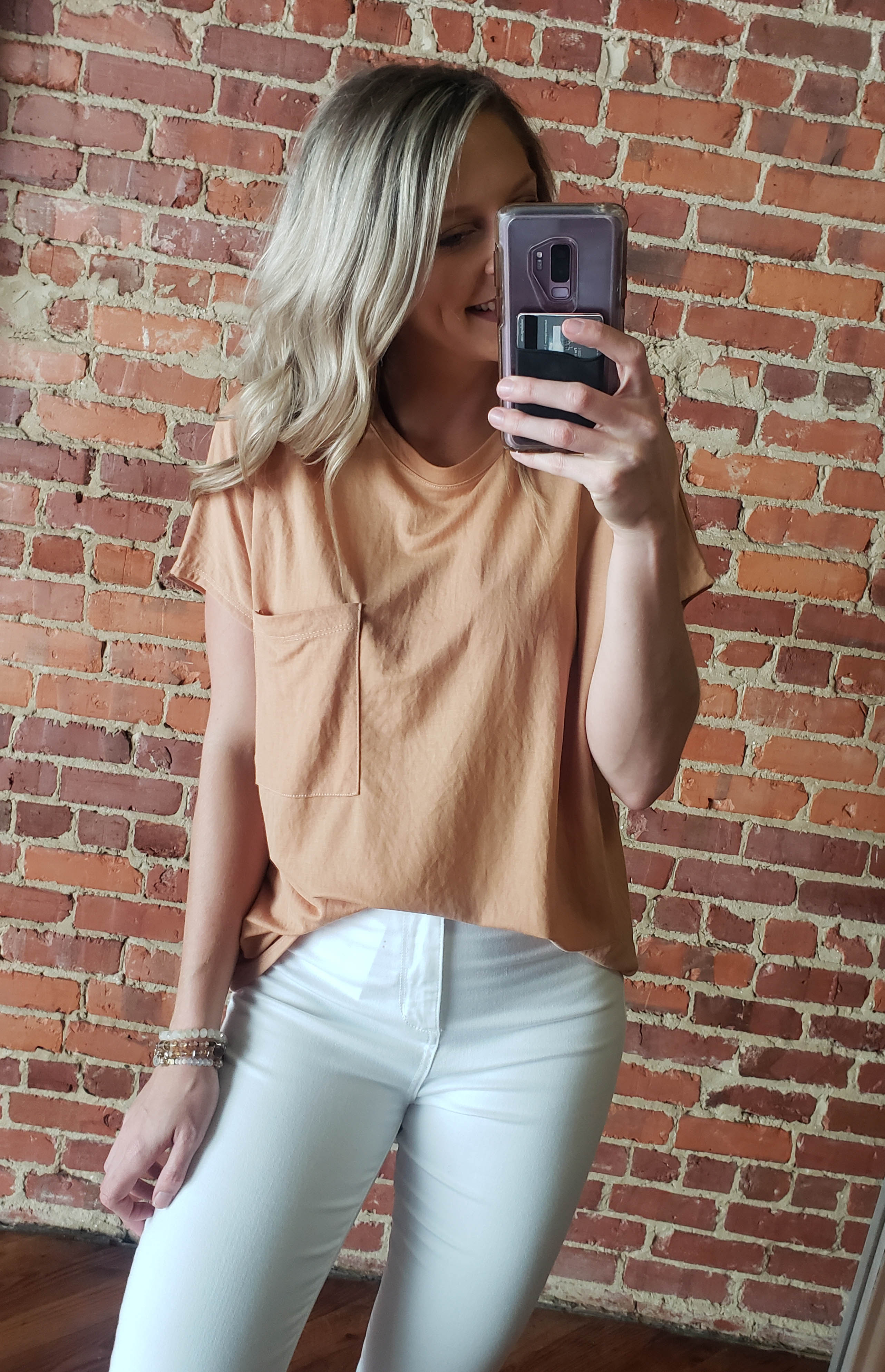 Toast Round Neck Top