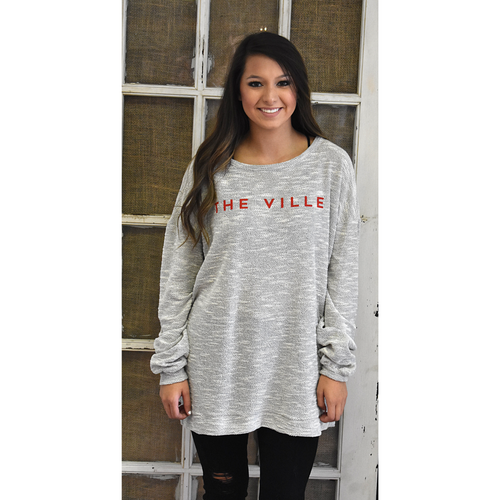 """The Ville"" Terry Sweater"