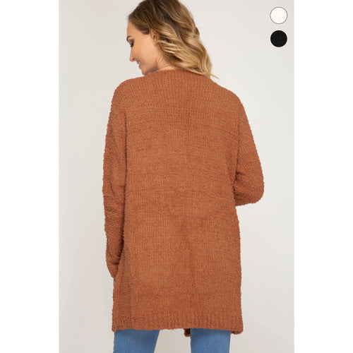 Caramel Sweater Cardigan