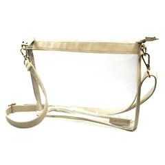 Large Clear Cross-body Bag