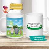 St. Patrick Custom Printed Pet & Owner Coffee Mug