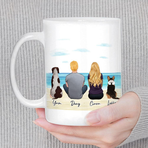 Beach Sand Custom Printed Pet & Owner Coffee Mug Mug Gooten