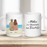 Beach Sand Custom Printed Mothers Day Coffee Mug