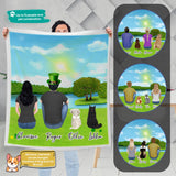 St. Patrick Personalized Pet & Owner Blanket