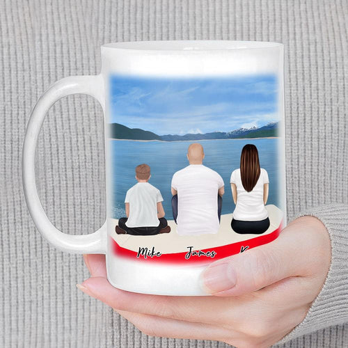 Boat Personalized Family Coffee Mug Mug Gooten