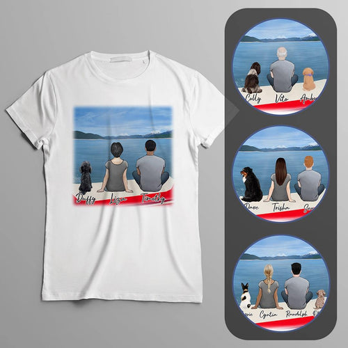 Boat Personalized Pet & Owner T-Shirt Gooten