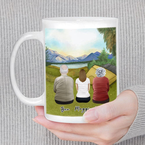 Camping Personalized Family Coffee Mug Mug Gooten
