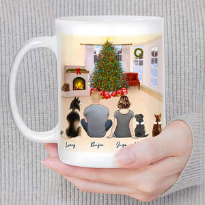 Christmas Living Room Custom Printed Pet & Owner Coffee Mug Mug Gooten